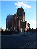 SJ3589 : Anglican Cathedral, Liverpool by Eirian Evans