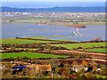 ST4120 : Somerset Levels : Lower Burrow and flooding on West Moor by Nigel Mykura