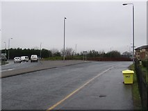NS3526 : A79 roundabout by Thomas Nugent