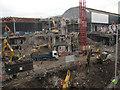 TQ3280 : Demolition of foundations of PWC building, London Bridge by Stephen Craven