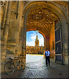 SP5105 : Entrance to Christchurch College, Oxford by Alan Ford