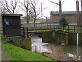 TM4076 : River Blyth Gauging Station by Adrian Cable