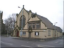 SO9596 : Bilston Catholic Church of The Holy Trinity by Richard Law