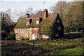 TQ4639 : House adjacent Golf Club by Oast House Archive