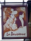 SU3521 : Sign for La Parisienne by Maigheach-gheal