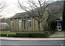 SD9827 : Hebden Bridge Methodist Church - Bridge Lanes by Betty Longbottom