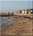 TM0716 : Beach near Westmarsh Point by Bob Jones