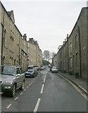 SD9827 : Hangingroyd Road - Market Street by Betty Longbottom