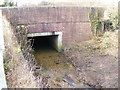 TM4287 : Culvert under the A145 London Road, Weston by Adrian Cable
