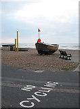 TQ2704 : Buster, Hove Beach by Simon Carey