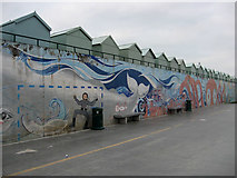 TQ2704 : Mural, Hove Lagoon by Simon Carey