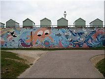 TQ2704 : Mural, Hove Lagoon by Simon Carey