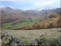 NY2000 : Above Spothow Gill by Michael Graham
