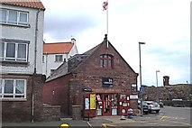 NT6779 : Lifeboat Station and RNLI shop, Dunbar by Morley Sewell