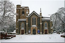 TQ2160 : St Martin of Tours, Epsom by Hugh Craddock
