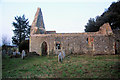 TM0620 : Ruined church of St Peter, Alresford by Bob Jones