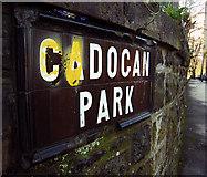 J3271 : Street sign, Cadogan Park by Rossographer