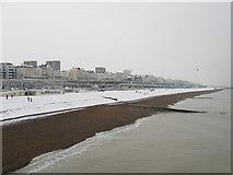 TQ3103 : Brighton Beach by Simon Carey