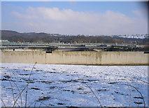 SE1839 : Esholt Sewage Works by John Illingworth