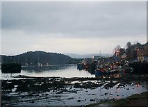 NR8668 : Evening at Tarbert Quay by Andrew Wood