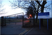 TQ7668 : Entrance to The Great Lines Open area, Gillingham by N Chadwick