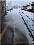 SX9193 : Platform 3, St David's station, Exeter by Derek Harper