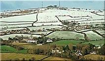 J4576 : Scrabo snow scenes, Newtownards (6) by Albert Bridge