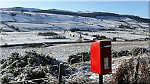 NU0401 : Postbox on Gravelly Bank, Rothbury by Andrew Curtis