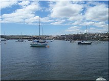 SX4454 : Torpoint : Boats along the Coast by Lewis Clarke