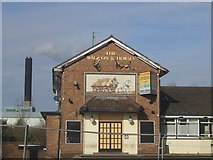 SO9199 : End of the road for 'The Waggon and Horses' by John M