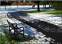 J3271 : Snow, Drumglass Park by Rossographer