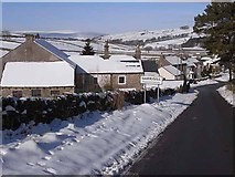 NY7441 : South end of Garrigill village by Oliver Dixon