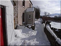 NY7441 : Cottages above Garrigill by Oliver Dixon