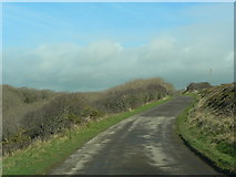 SS9168 : Private road at Nash Point by Mick Lobb