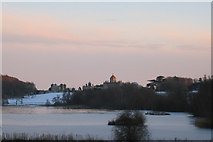 SE7170 : Winter Sunset at Castle Howard by Neil Reed