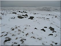 SD9917 : Cat stones or quarry debris?, Cat Stones, Rishworth by Humphrey Bolton
