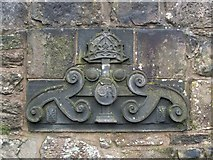 NS3975 : Dumbarton Prison - Crown Stone by Lairich Rig