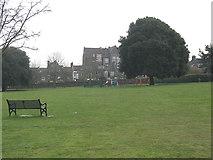 TQ3978 : East Greenwich Pleasaunce: open grassland by Stephen Craven