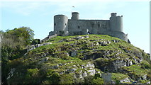 SH5831 : Harlech Castle by Peter Trimming