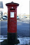 NS2776 : Pillar box in Adgowan Square by Thomas Nugent