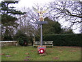 TM4575 : Blythburgh Village Sign by Adrian Cable