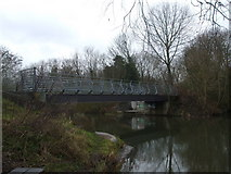 TG2209 : Bridge over the River Wensum by Ashley Dace