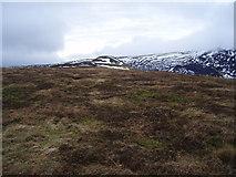 NN8032 : Looking SW along Sron  Challaid towards A'Chairidh by paul birrell