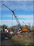 TA0623 : Old Crane at White Oak Farm by David Wright