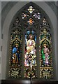 SU9877 : Magnificent stained glass window above the altar at St Mary the Virgin, Datchet by Basher Eyre