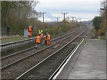 SK6443 : Track maintenance by Alan Murray-Rust