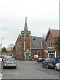 SK6443 : Burton Joyce Methodist Church by Alan Murray-Rust