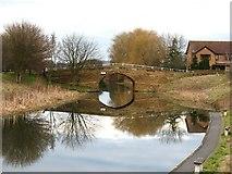 SE5726 : Canal bridge, West Haddlesey by Gordon Hatton