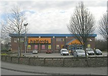 SE4422 : Halfords - Park Road Retail Park by Betty Longbottom