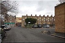 TQ3283 : Sturt Street looking towards Taplow Street, London N1 by John Salmon